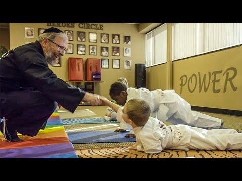 "Ford owner Rabbi Elimelech Goldberg teaches kids how to cope with their cancer using the martial arts as a platform for empowerment. Using the mantra ""Power,..."