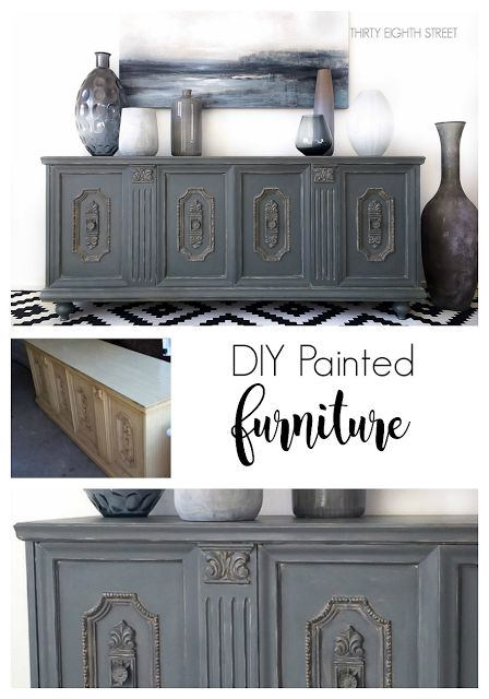 DIY Painted Furniture Before & After Furniture Makeovers PLUS A $250 Country Chic Paint Product GIVEAWAY!