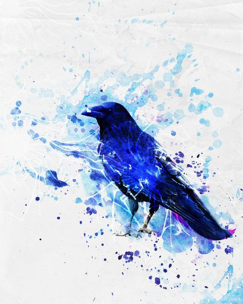 the crow Art Print   Beautiful, The o'jays and Products