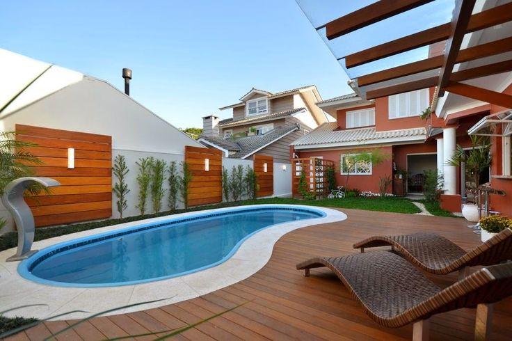 Muros modernos e diferentes para área de lazer/quintal! Veja ótimas ideias para sua casa! - Decor Salteado - Blog de Decoração e Arquitetura