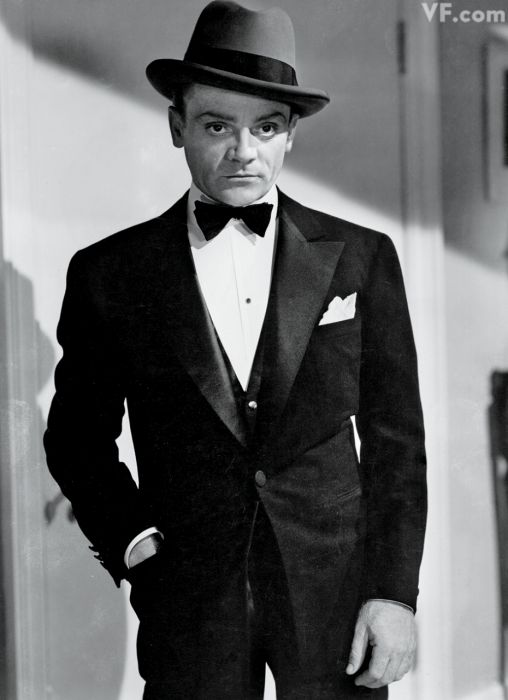 JAMES CAGNEY in a still from The Roaring Twenties, 1939.