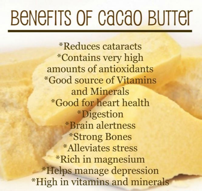 The benefits of raw Cacao butter are plentiful....and plus, it smells absolutely delicious! http://amzn.to/1YdUtlw