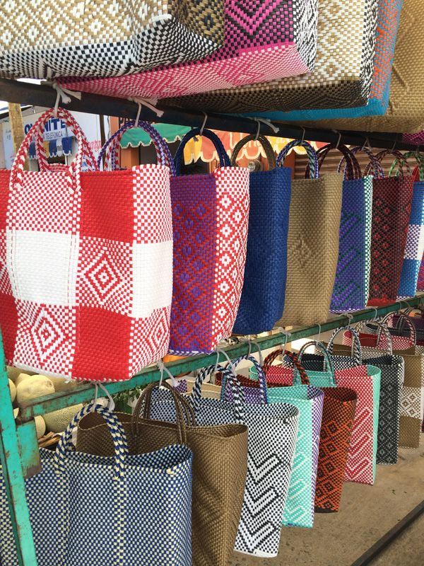 These awesome #Mexican handwoven bags are the most durable yet arty bags going. Made by hand, we brought some back to Australia and still get rave reviews @Mexico Import Arts