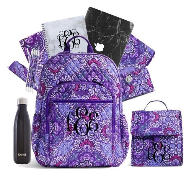 """""""Vera Bradley Style~"""" by foreverandalwaysemily22 on Polyvore featuring Vera Bradley and S'well"""