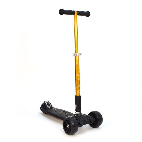 """RGS-3 Gold 3 Wheel Kick Scooter with 2"""" Heavy Duty Wheels 