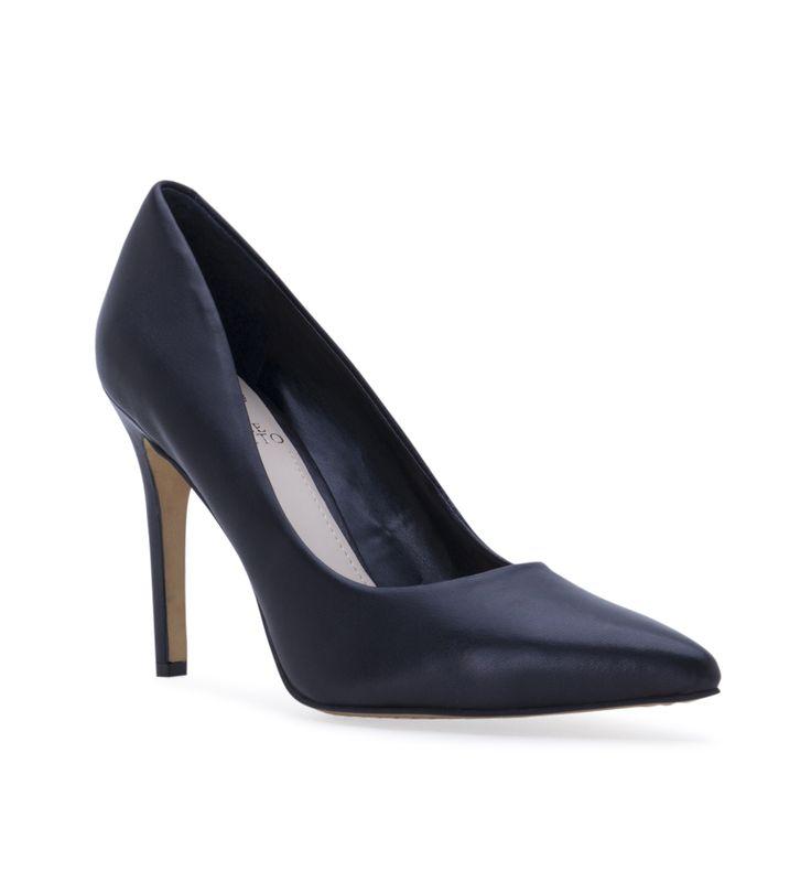 Women's Vince Camuto Kain Heeled Shoe - Black - Low & mid heels - Shoes - Women