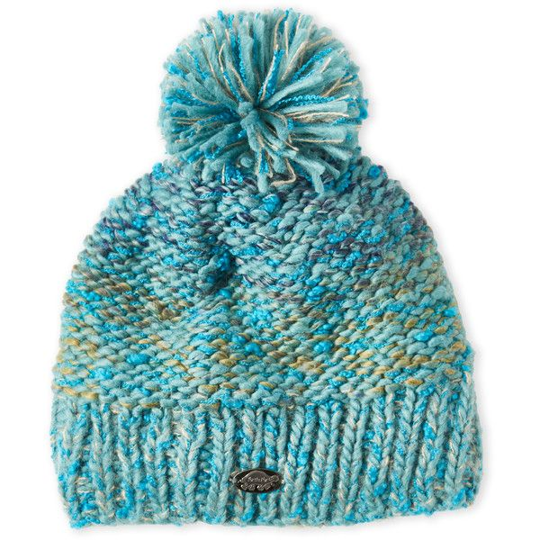 bc5afef2ad2 Turtle Fur Firefly Pom-Pom Beanie ( 20) ❤ liked on Polyvore featuring  accessories