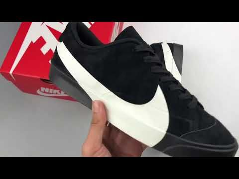 check out 1c2d8 a9aac Where to buy Big Swoosh Nike Blazer City Low XS Black White ...