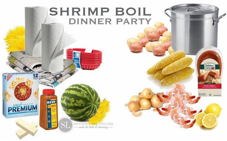 Shrimp Boil Dinner Party #trysamsclub