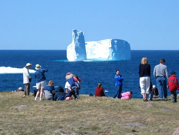 Iceberg site seeing in Newfoundland