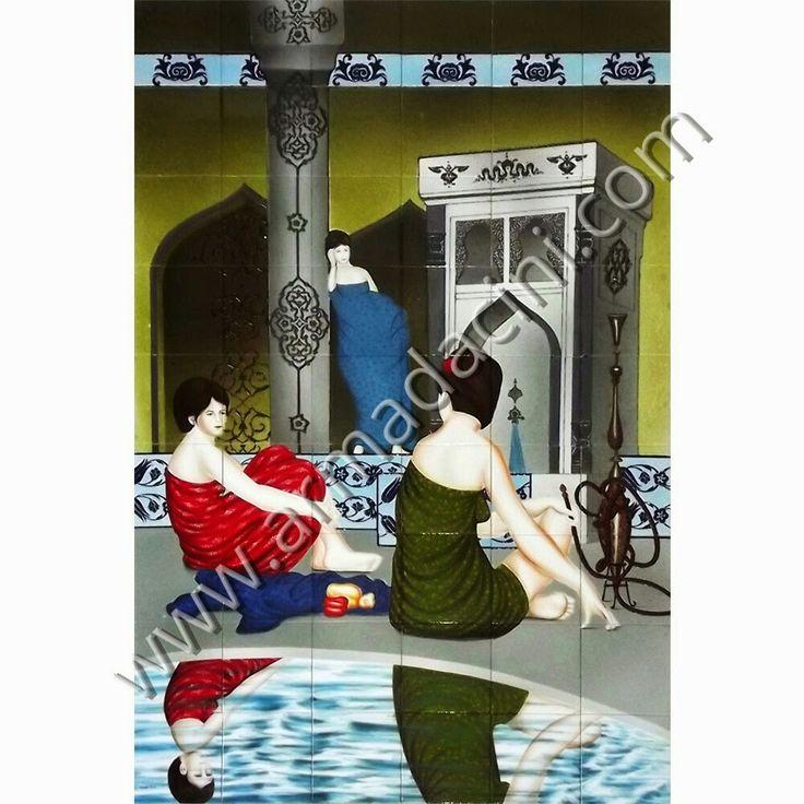 Kütahya, turk hamami, çinisi , çini, Hand made, dekorasyon, cini, seramik, desenler, iznik, pano, mimari, tasarım, Osmanlı, Türk hamami, bathroom ceramic tiles, interrior, design, ottoman, decoration, decor, islamic, Turkish bath, special tiles mosaic decorative çinileri