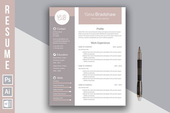 Resume Template by @Graphicsauthor                              …