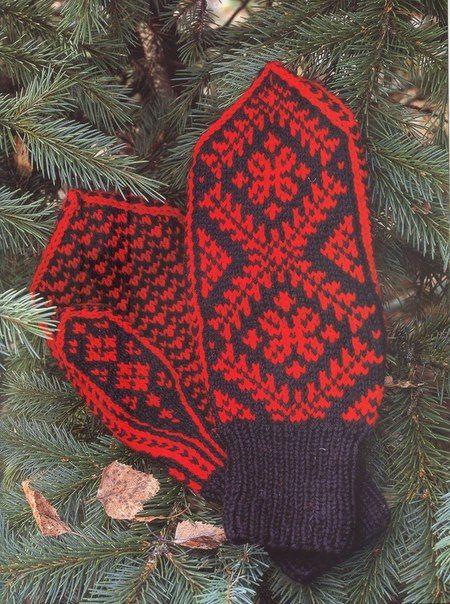 Варежки и носочки из Чердыни