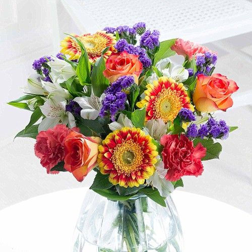 New Baby Flowers | FREE Delivery & Pop-Up Vase | Flying Flowers