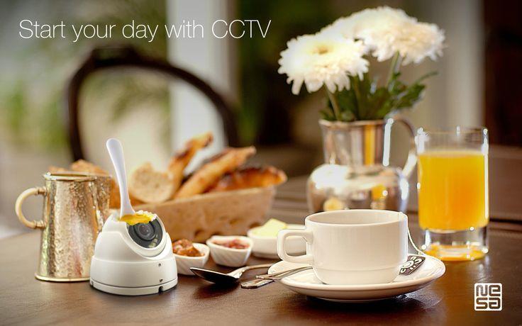 CCTV commercial illustration