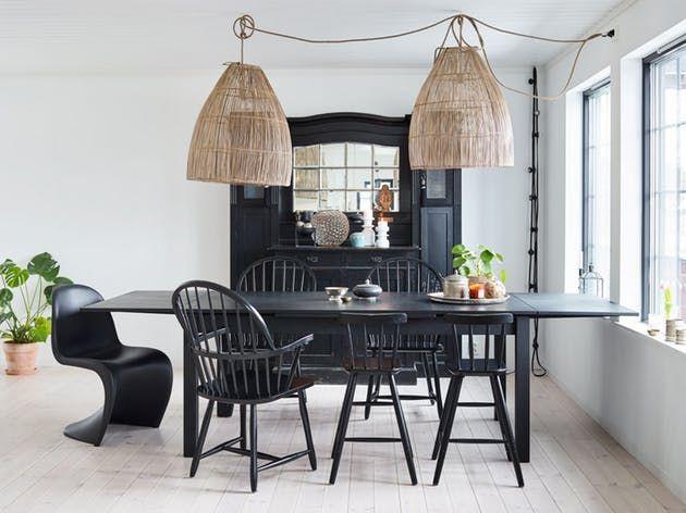 silla de verner panton en la mesa de comedor tena trude soado durante muchos aos antes with ikea mesas y sillas comedor