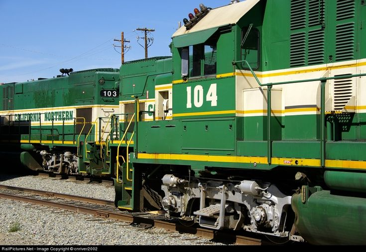 RailPictures.Net Photo: 104 California Northern Railroad EMD GP15 at woodland, California by cnriver2002