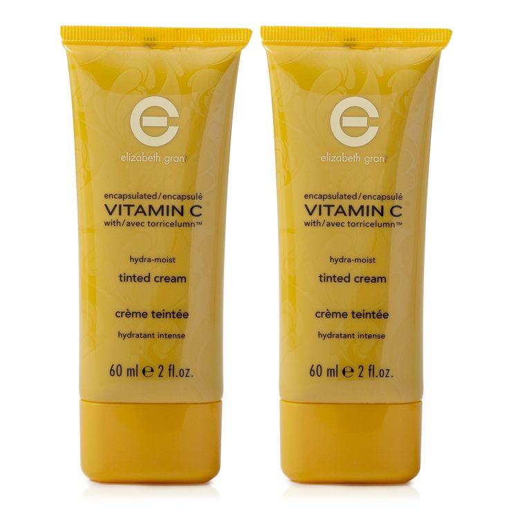 Con la crema idratante colorata per il viso Vitamin C di Elizabeth Grant copri in modo naturale la tua pelle e ne migliori l'aspetto. È un'ottima alternativa al fondotinta. Dai un tono alla tua bellezza.