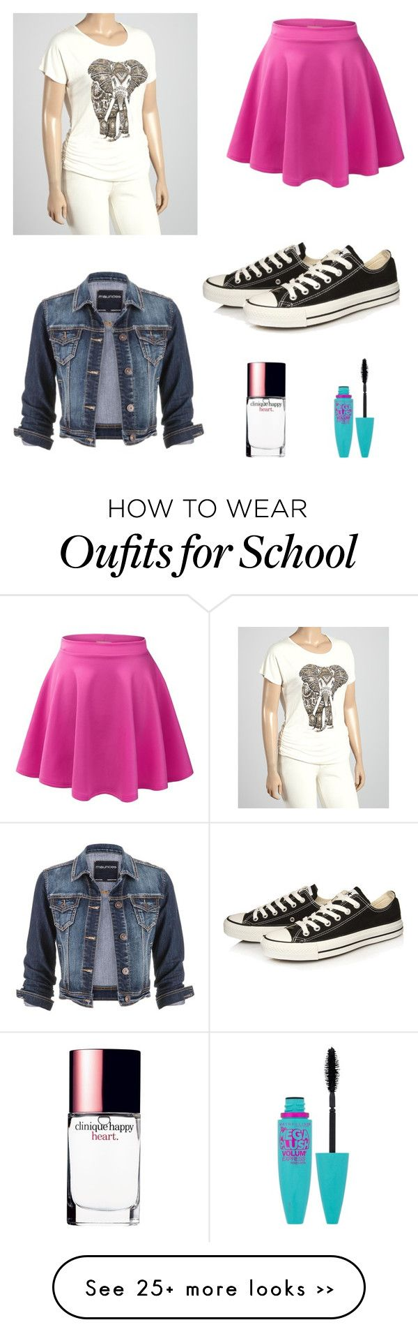 """School outfit"" by cici4896 on Polyvore"