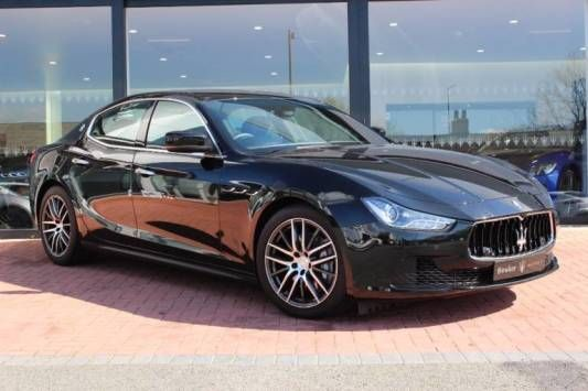 Used 2014 (14 reg) Black Maserati Ghibli V6d 4dr Auto for sale on RAC Cars