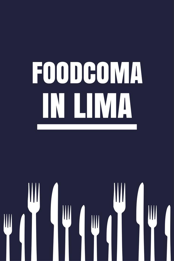 In Lima kun je heerlijk eten. Op iedere straathoek, in ieder restaurant en zelfs in de snackbar. De Peruaanse keuken is fantastisch.