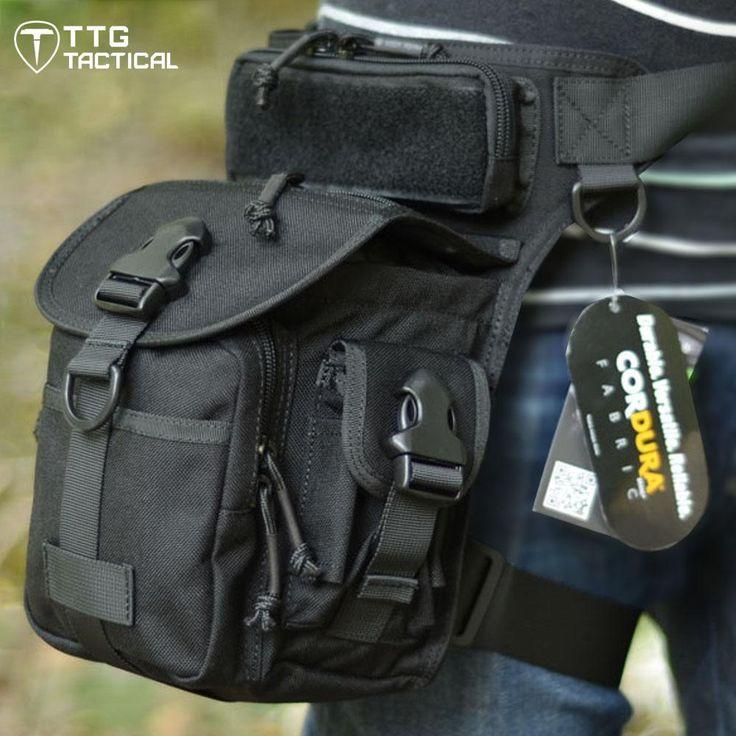 [Visit to Buy] TTGTACTICAL CORDURA NYLON 1000D Multifunctional Military Leg Bags Military Drop Leg Bags Electrical Tool Thigh Bags #Advertisement