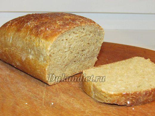 Хлеб из овсяных отрубей с пшеничной клейковиной | Диета Дюкана