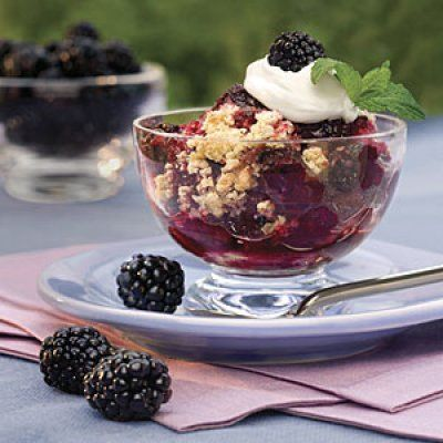 Easy Blackberry Cobbler http://www.southernliving.com/food/entertaining/22-top-rated-dessert-recipes/view-all