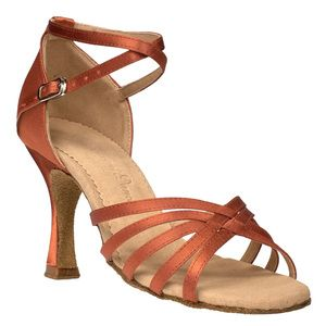 "Elegant Dance Taloa Brown 3"" Flare."