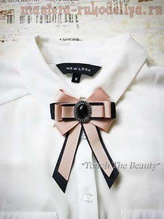 Resultado de imagen para como hacer moños de moda para blusas