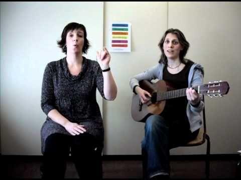 gebarenliedje: dagen van de week