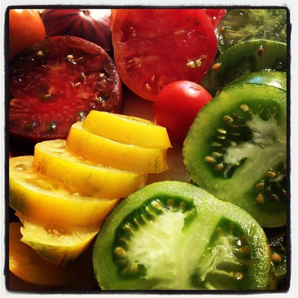 #cosmic #tomato every #colour of the #rainbow has #graced my #lunch #gratitude #organic #sustainable #love #raw #vegetarian #happiness ""