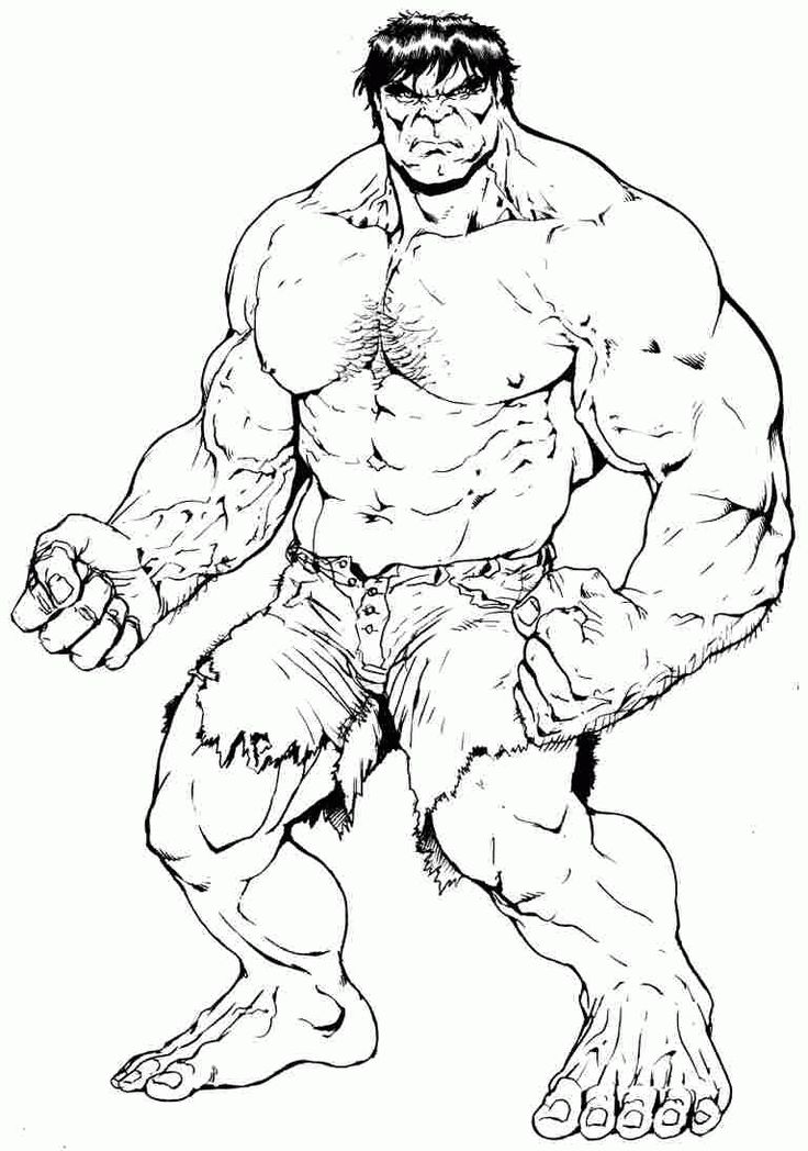 Hulk Coloring Pages: Check out the top 20 such fantastic Hulk coloring sheets that depict his different moods and actions.
