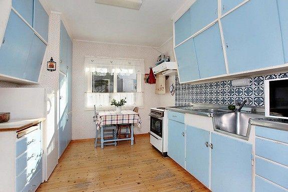 Retro kjøkken fra 60-tallet