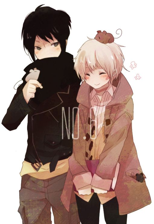 Nezumi & Sion | No.6---Just started watching this, and so far I really like…