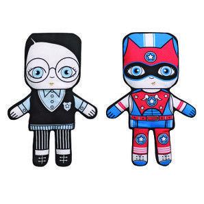 Villa Carton Spencer and Super Spencer flip doll