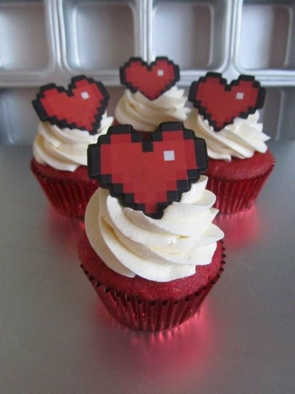SWEET HEART ZELDA CUPCAKES FOR YOUR SWEETHEART ... – On The Level Gaming