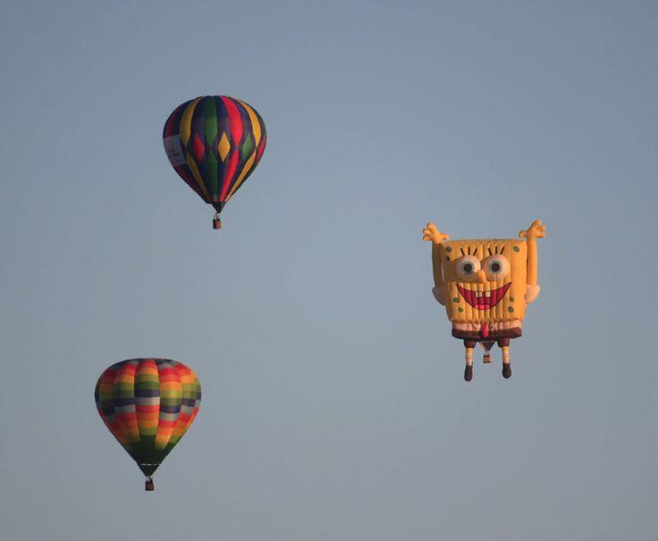 En el aire los globos del Festival Internacional del Globo de León. #FIG #leon #guanajuato #mexico