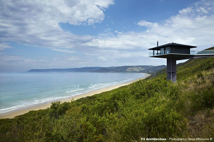 Pole House, situated on Great Ocean Road, overlooking Fairhaven Beach. #interdema #house #design #architecture #luxury #travel #greatoceanroad #fairhaven #fairhavenbeach #дом #дизайн #архитектура #путешествие #люкс