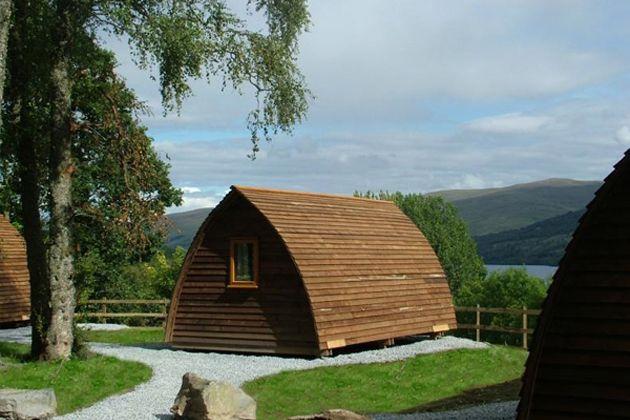 Go on a Wigwam Holiday - Loch Tay