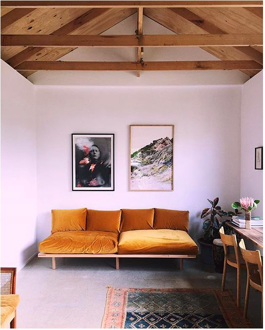 easy pallet couch - for not converting into futon
