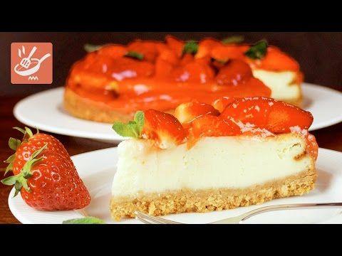 Cheesecake di yogurt alle fragole (Spadellandia)