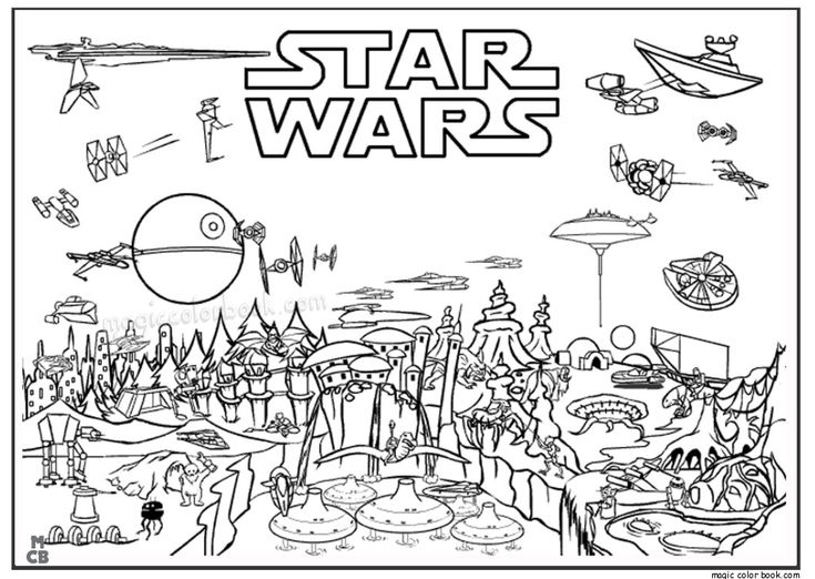 32 besten Star Wars Coloring pages free online Bilder auf Pinterest ...
