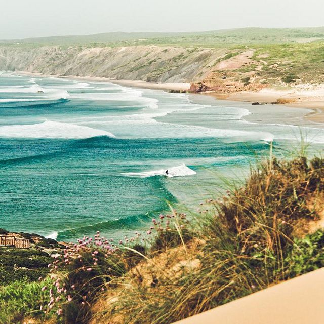 Portugal  Can't you just smell the Ocean and hear the waves, and feel the breeze just take you away. :)