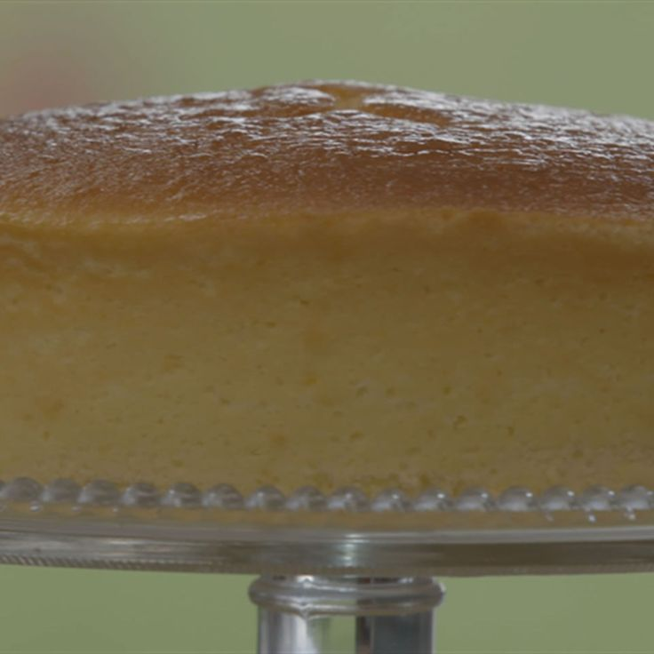 Try this Japanese Honey Souffle Cheesecake recipe by Chef Janice. This recipe is from the show The Great Australian Bake Off.
