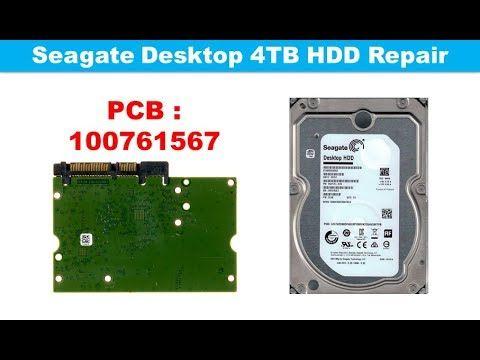 Seagate  ST4000DM005  ST4000VX007  ST4000VX000 100788341  repair data re...