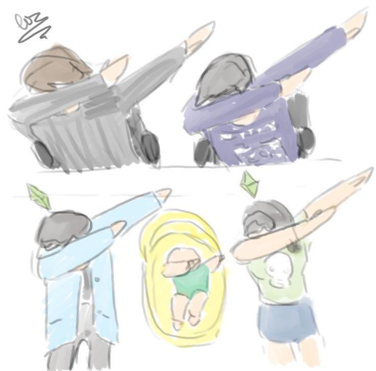 FAN ART: bonus doodle dabfordab