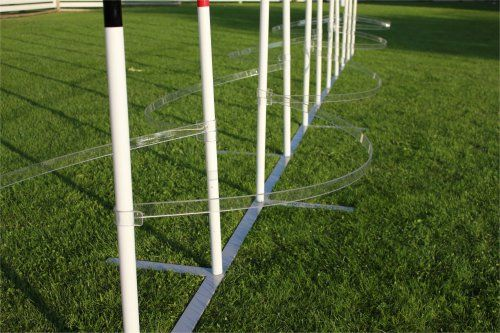 Ohjurisarja pujotteluesteeseen / Trainingsbows for slalom | Dogantti koiratarvikkeet ja agilityesteet / Dogantti Dog equipments and Agility Obstacles
