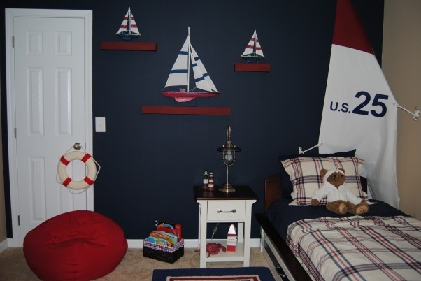 Perfect theme for my big boys room!