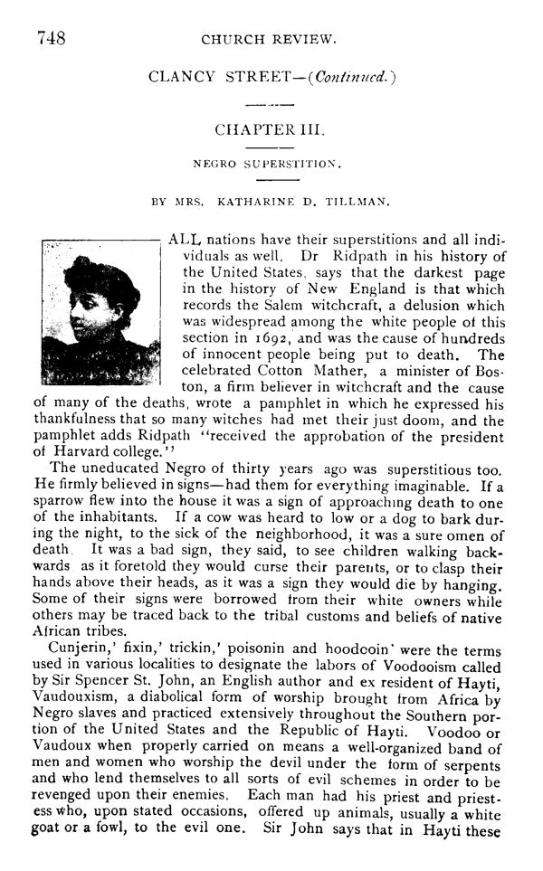 ohiohistory.org / The African American Experience in Ohio, 1850-1920 / African Methodist Episcopal Church Review, Vol. 15, Num. 3